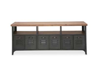 "Image for Brooklyn Walk""TV Console""Burnt Umber"
