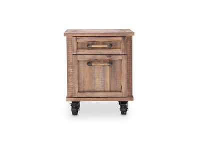 "Image for Crossings""File Cabinet w/Casters""Reclaimed Barn"
