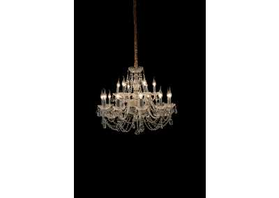 Vladimir Glass 18 Light Chandelier