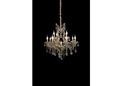 Vitoria Glass 13 Light Chandelier 220V