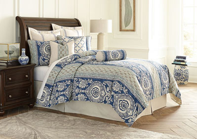 La Rochelle Cadet 10 pc. King Comforter Set