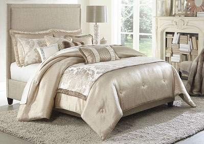 Palermo Pearl 10 pc. Queen Comforter Set