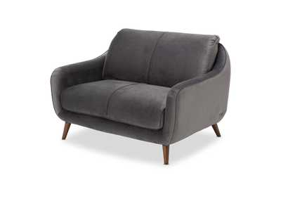 Image for Brussels Grey Loveseat