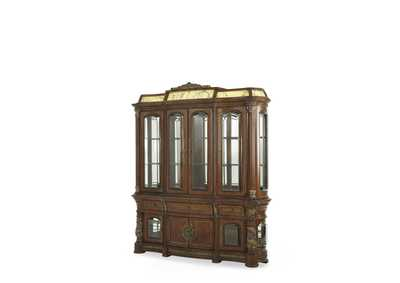 "Image for Villa Valencia""China Cabinet"" Classic Chestnut"
