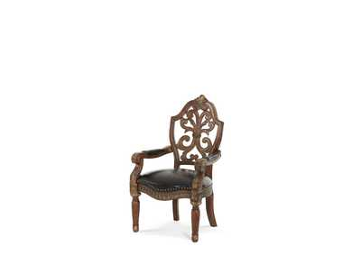 Image for Villa Valencia Classic Chestnut Writing Desk Chair