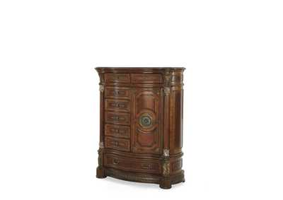 Image for Villa Valencia Classic Chestnut Gentleman's Chest