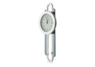 Image for Montreal Silver Wall Clock