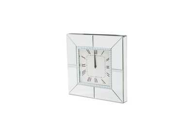 Image for Montreal Silver Square Clock