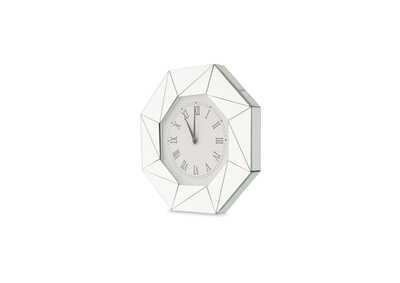 Image for Montreal White Octagonal Shaped Clock
