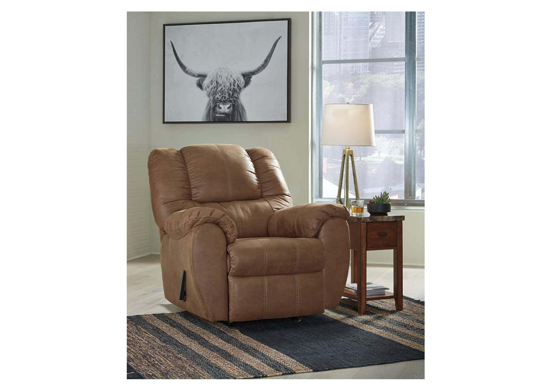McGann Saddle Rocker Recliner,Signature Design By Ashley