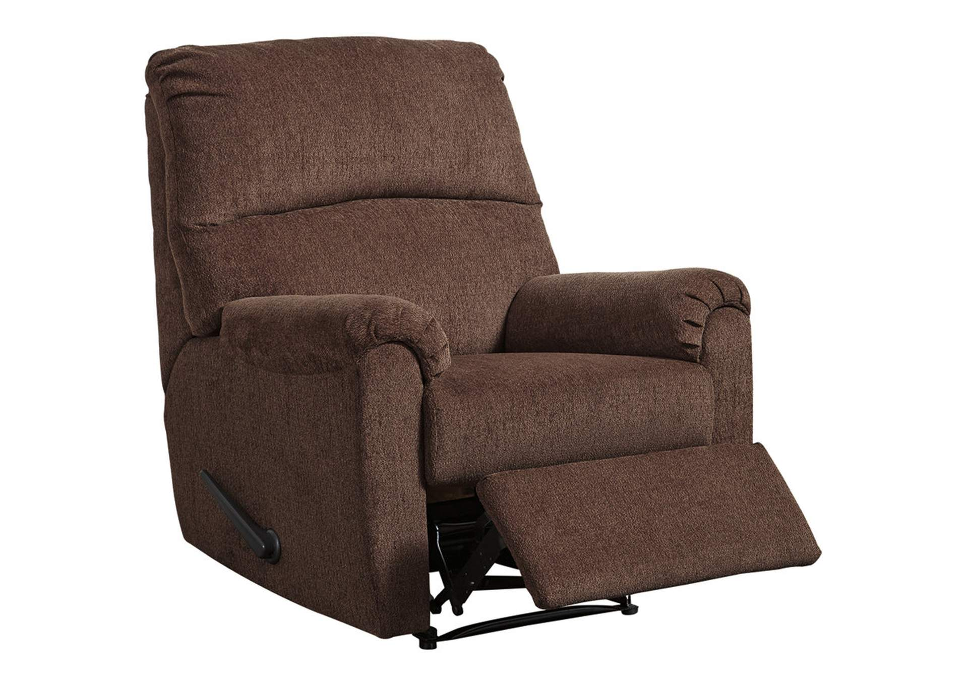 Nerviano Chocolate Recliner,Signature Design By Ashley