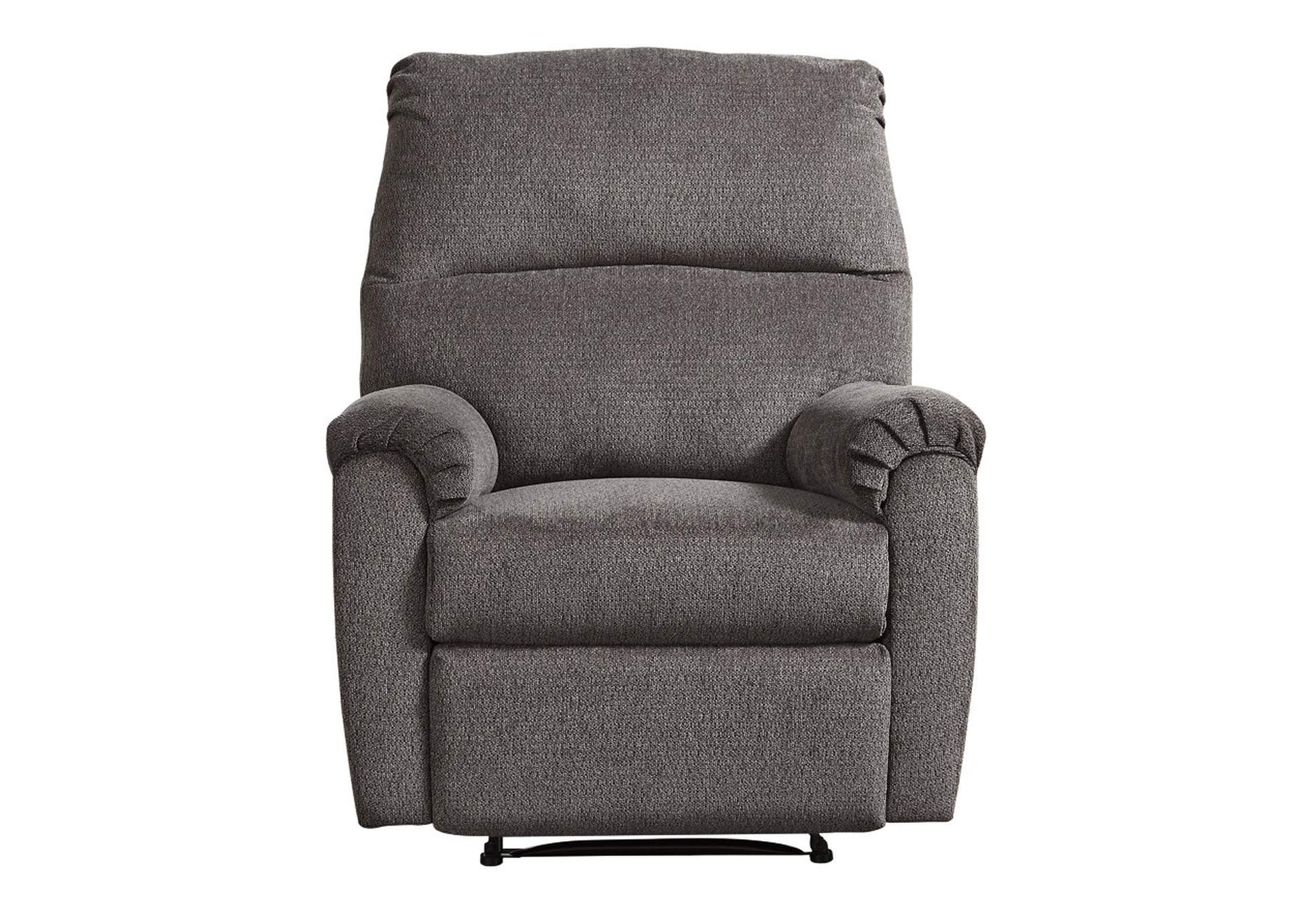 Nerviano Gray Recliner,Signature Design By Ashley