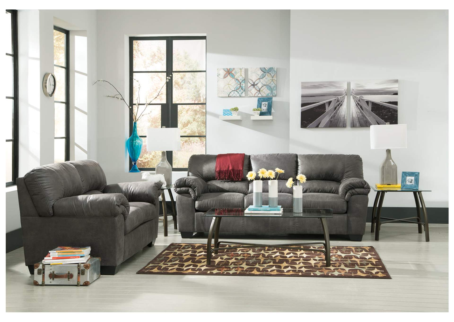 Bladen Slate Sofa,Signature Design By Ashley