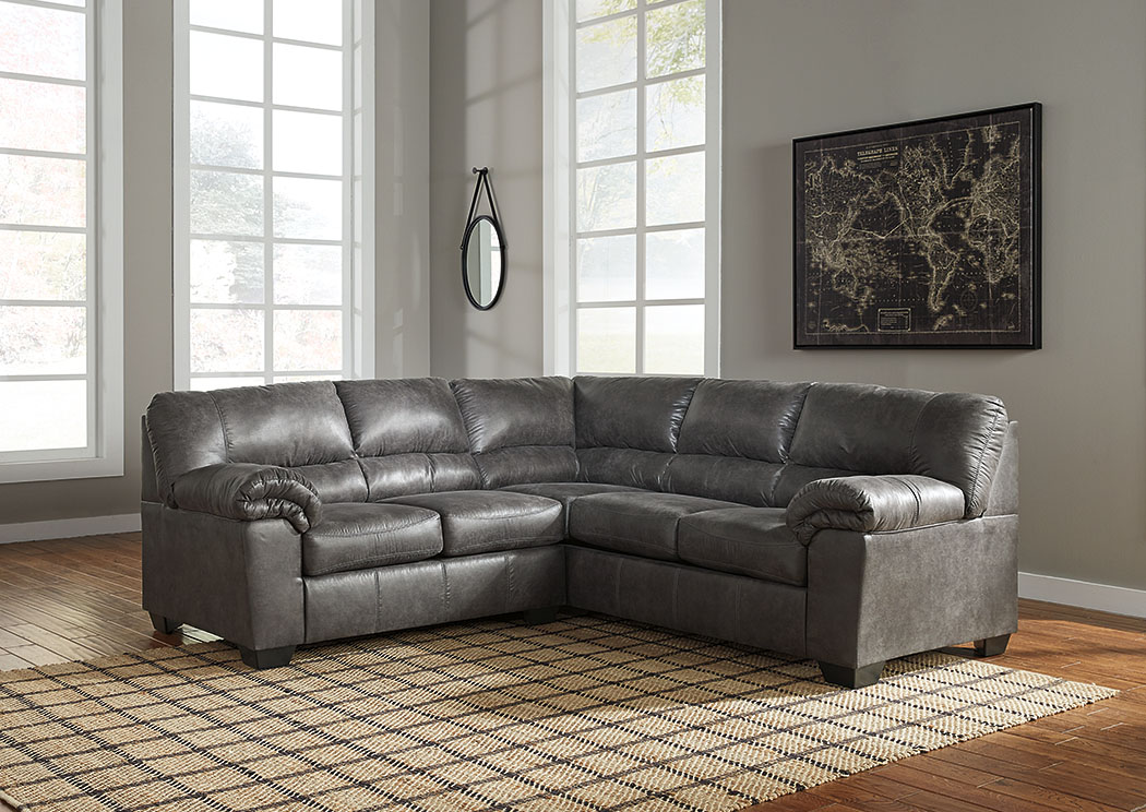 Bladen Slate RAF Sectional,Signature Design By Ashley