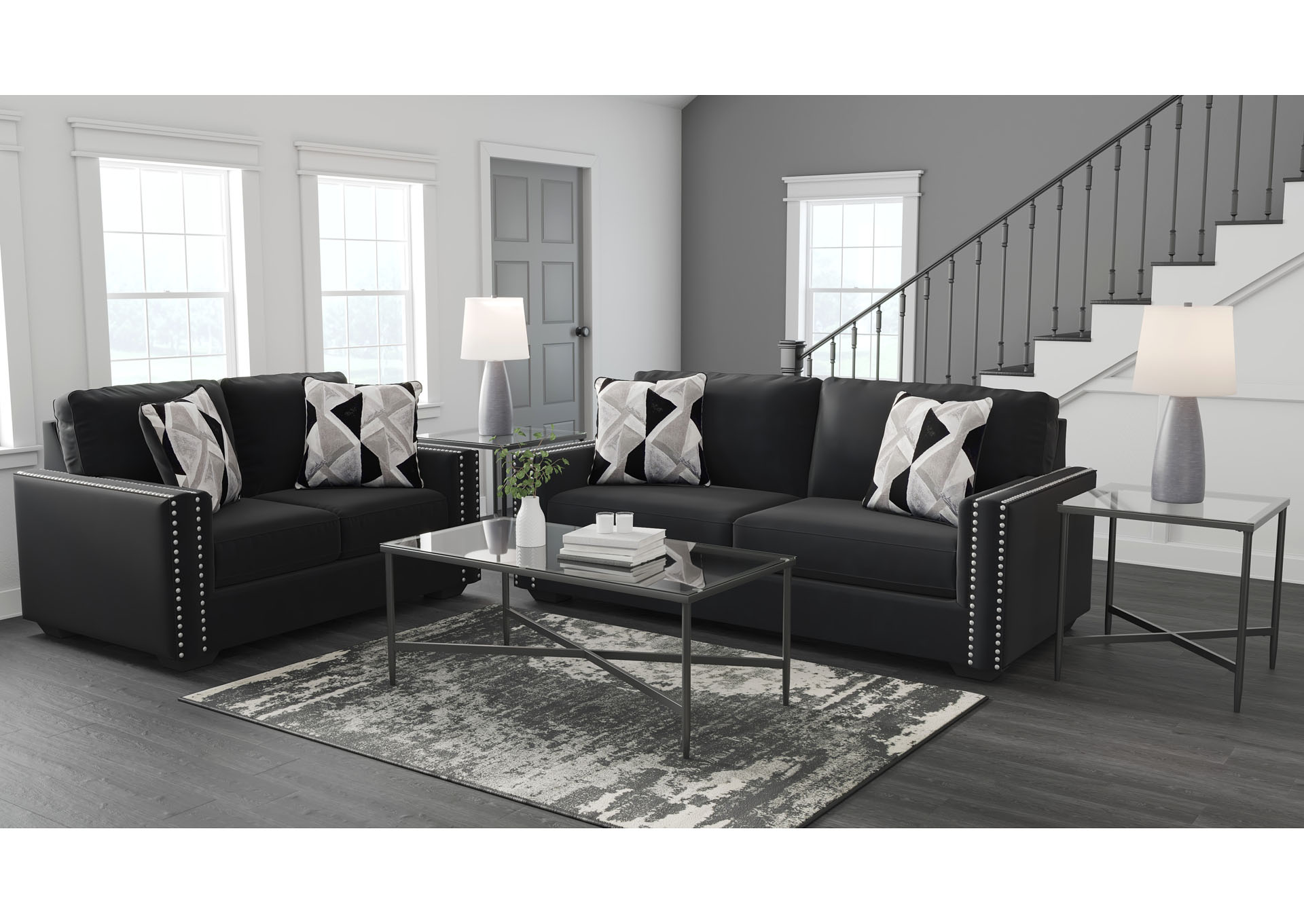 Gleston Sofa and Loveseat,Signature Design By Ashley