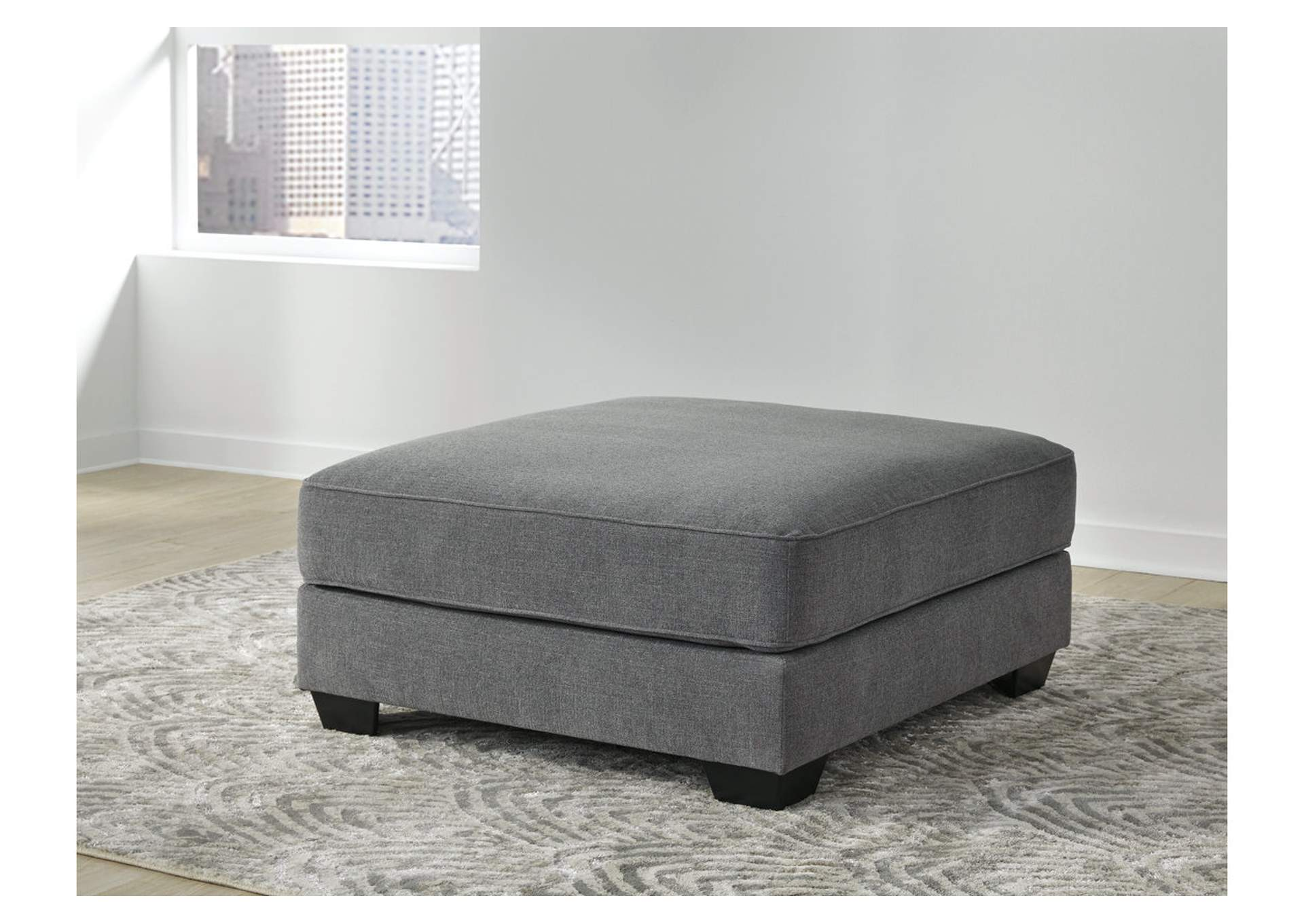 Castano Jewel Oversized Accent Ottoman,Ashley