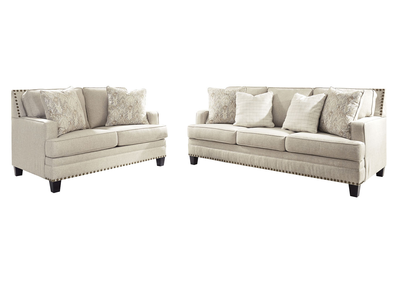 Claredon Linen Sofa and Loveseat,Benchcraft