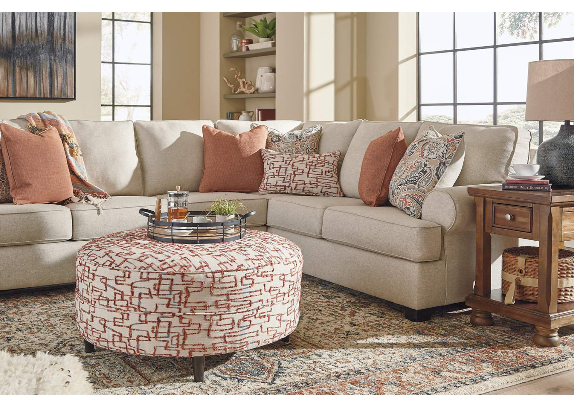 Amici Oversized Accent Ottoman,Signature Design By Ashley