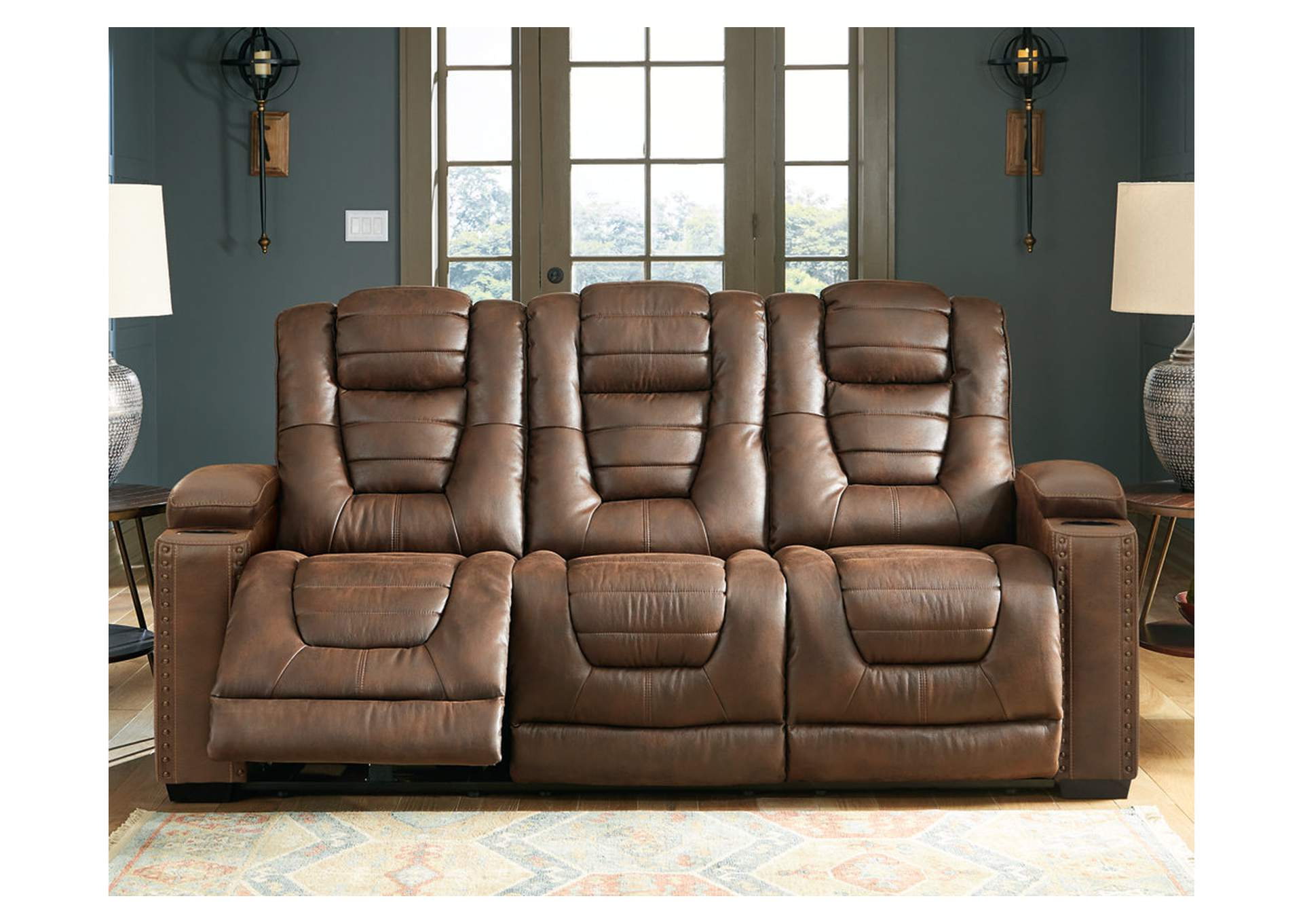 Owner's Box Power Reclining Sofa,Signature Design By Ashley