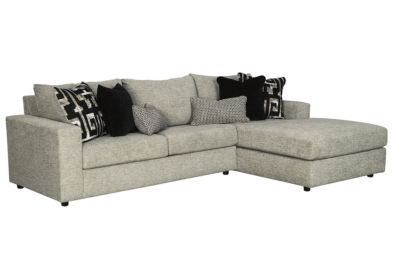 Ravenstone Flint Right-Arm Facing Chaise End Sofa,Signature Design By Ashley