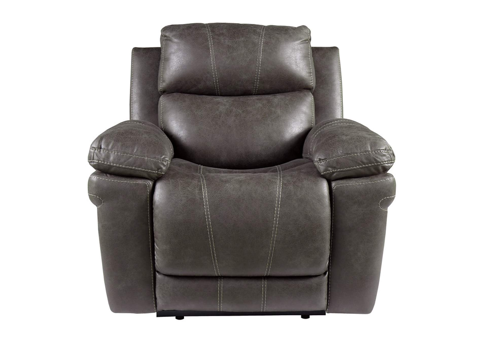 Erlangen Midnight Power Recliner w/Adjustable Headrest,Signature Design By Ashley