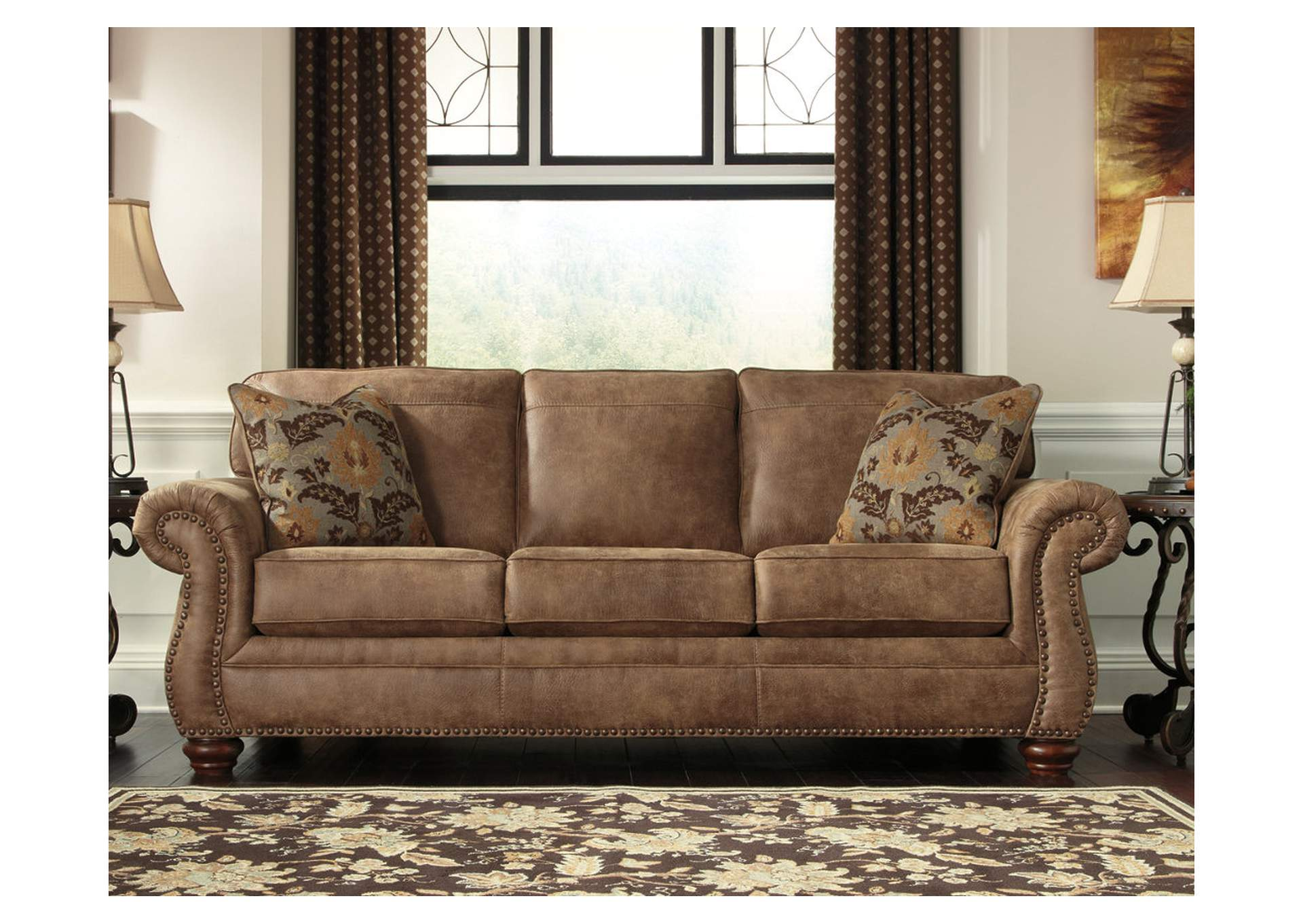Larkinhurst Earth Queen Sofa Sleeper,Signature Design By Ashley