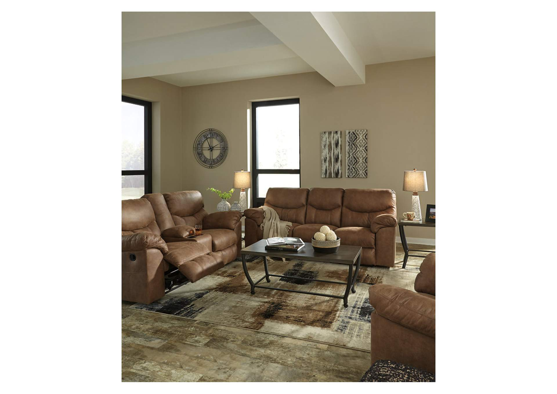 Boxberg Bark Reclining Sofa,Signature Design By Ashley