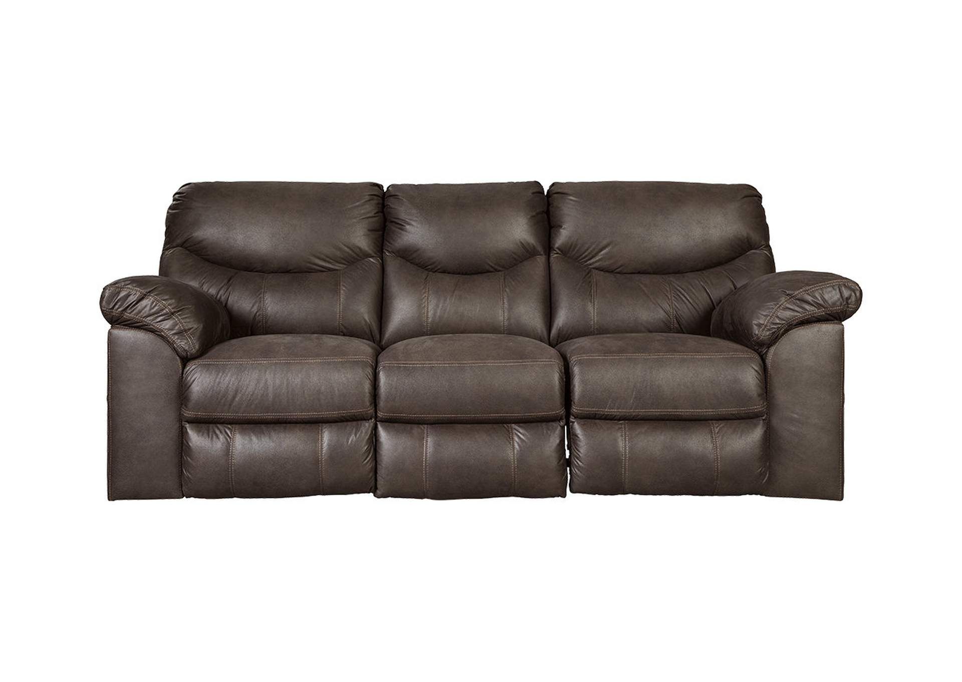 Boxberg Teak Reclining Sofa,Signature Design By Ashley