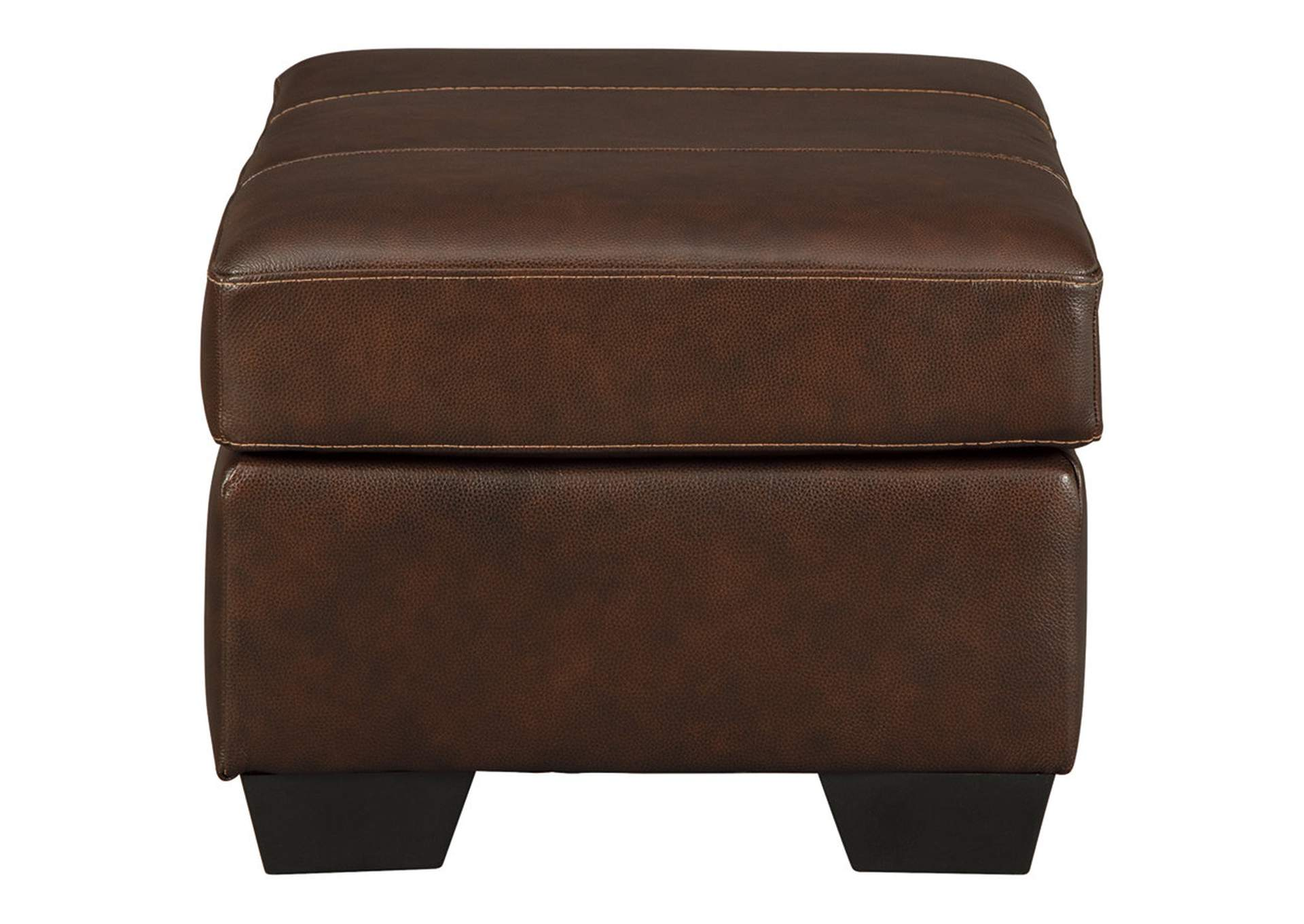 Morelos Chocolate Ottoman,Signature Design By Ashley
