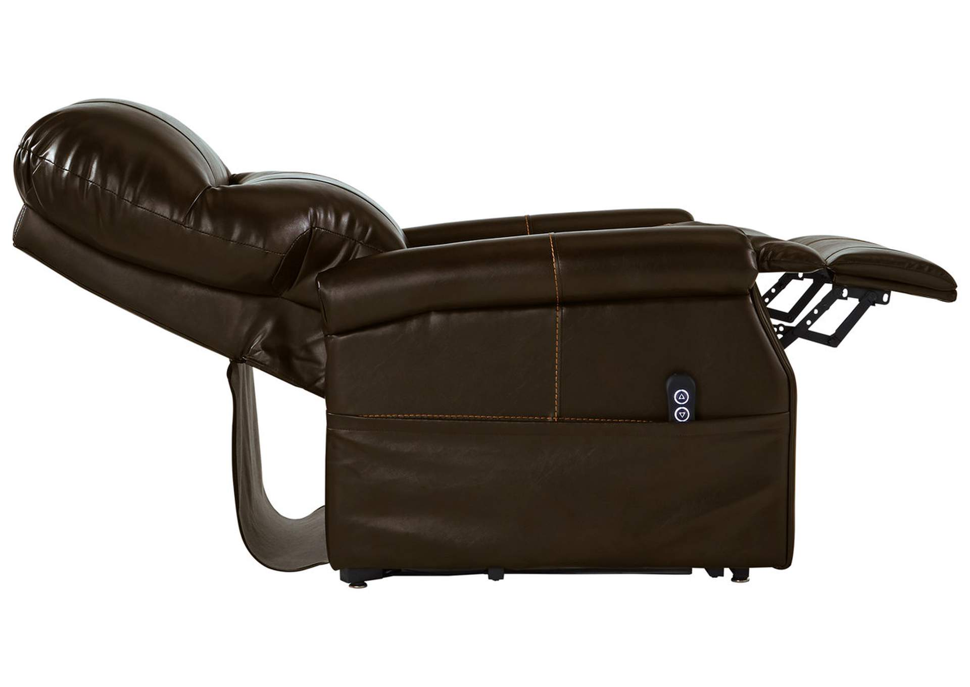 Markridge Chocolate Power Lift Recliner,Signature Design By Ashley