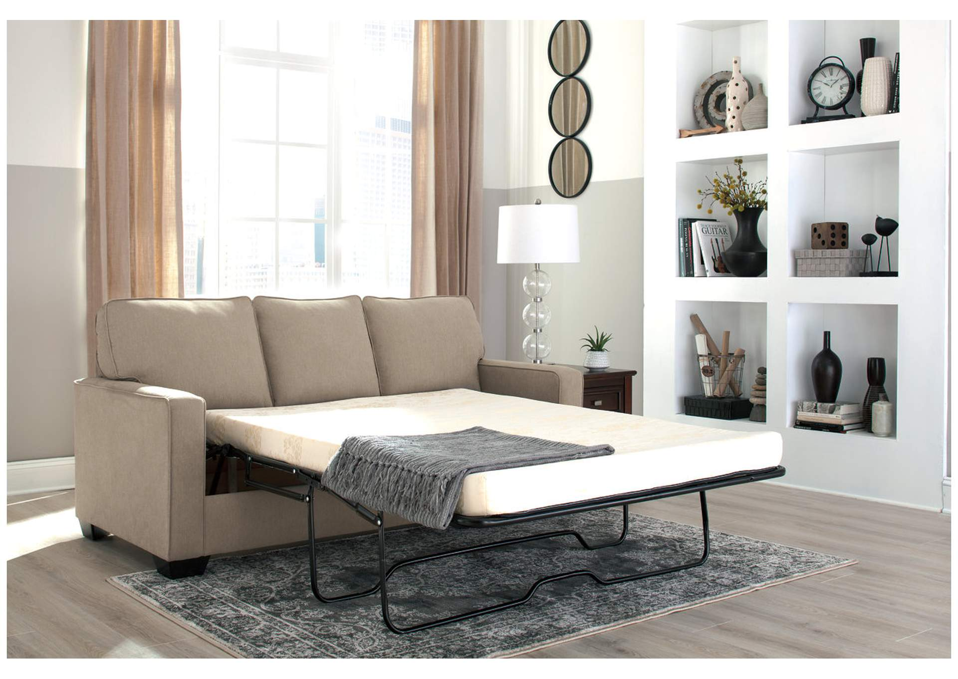 Zeb Quartz Full Sofa Sleeper,Signature Design By Ashley