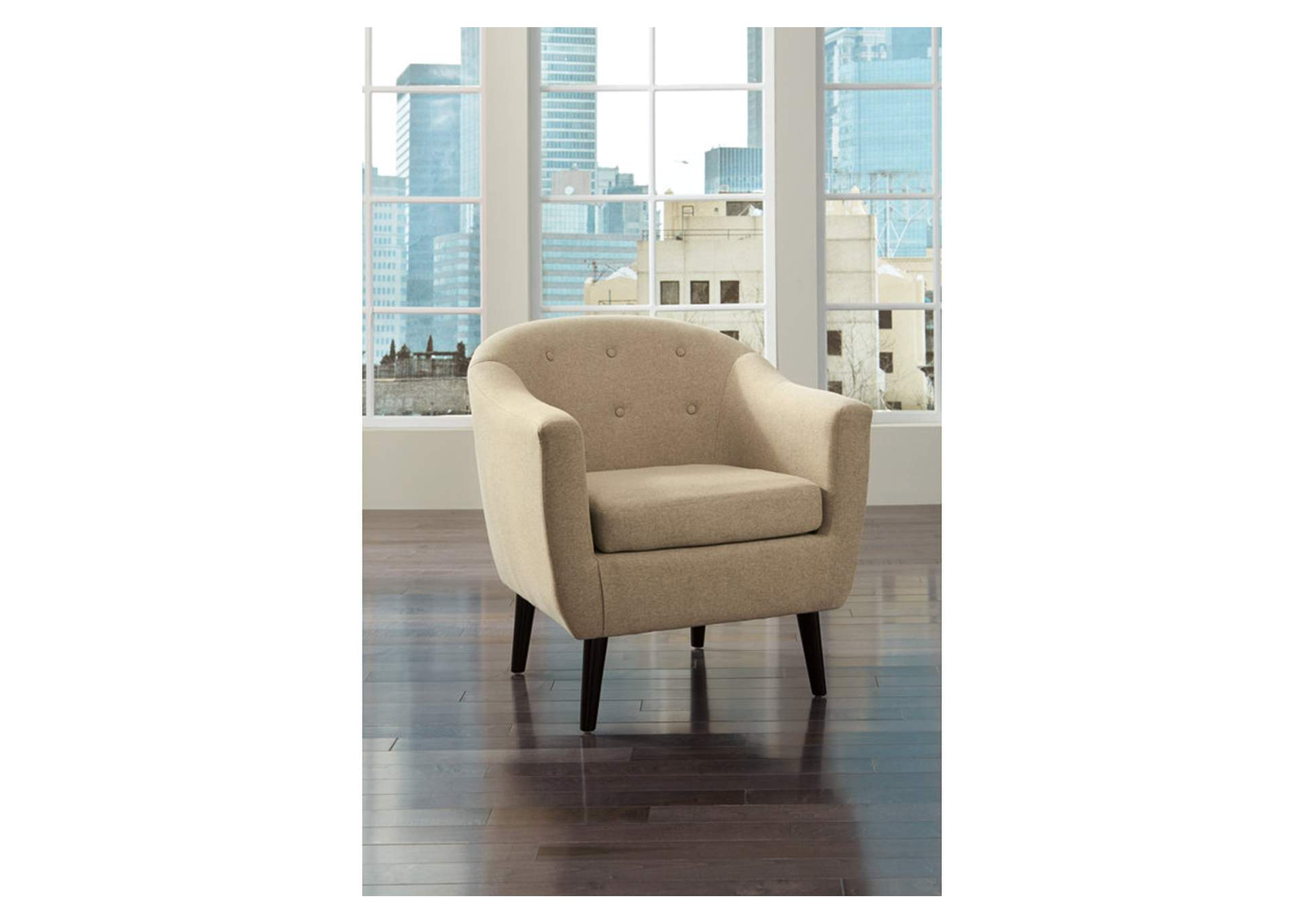 Klorey Khaki Accent Chair,Signature Design By Ashley