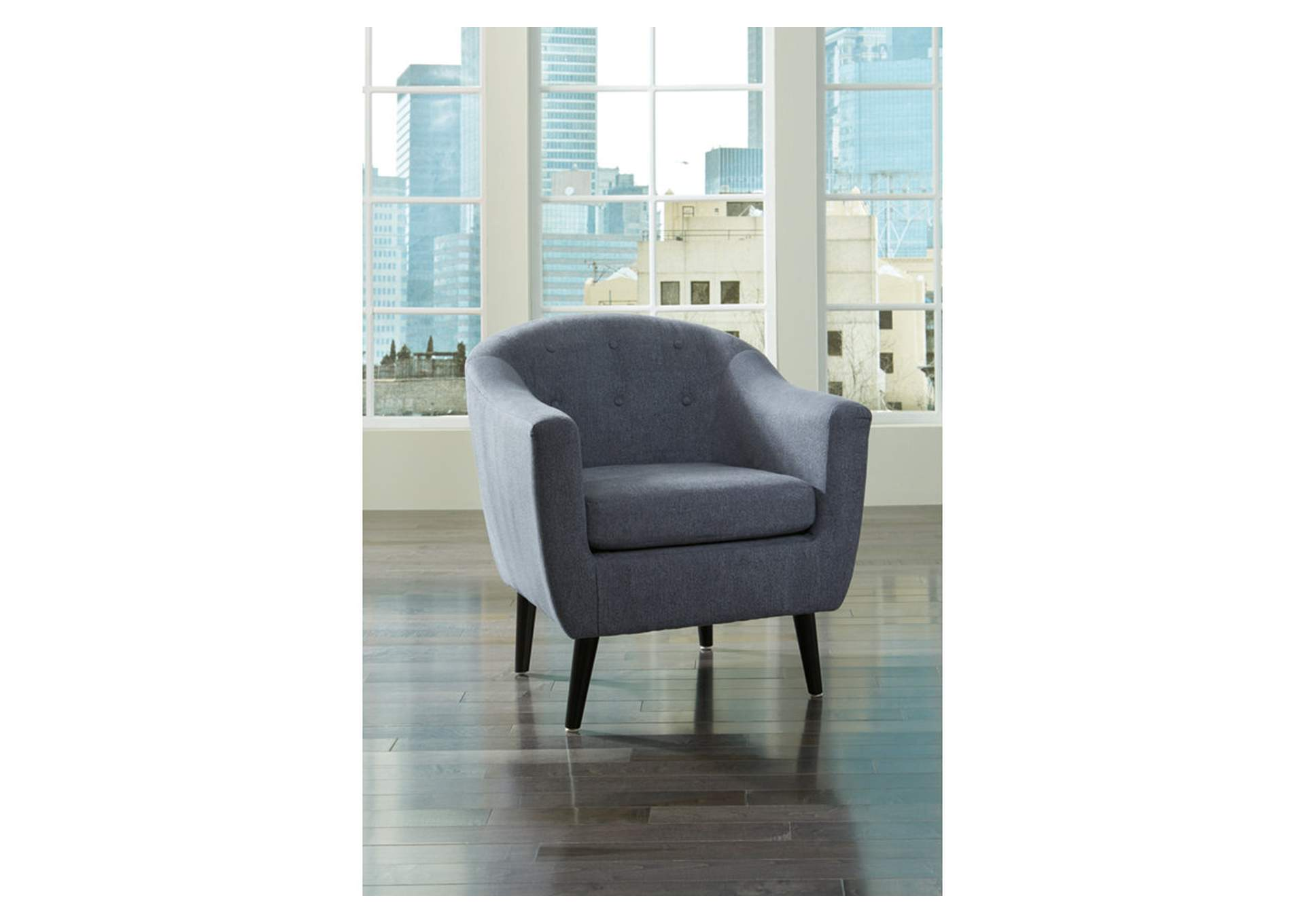 Klorey Denim Accent Chair,Signature Design By Ashley