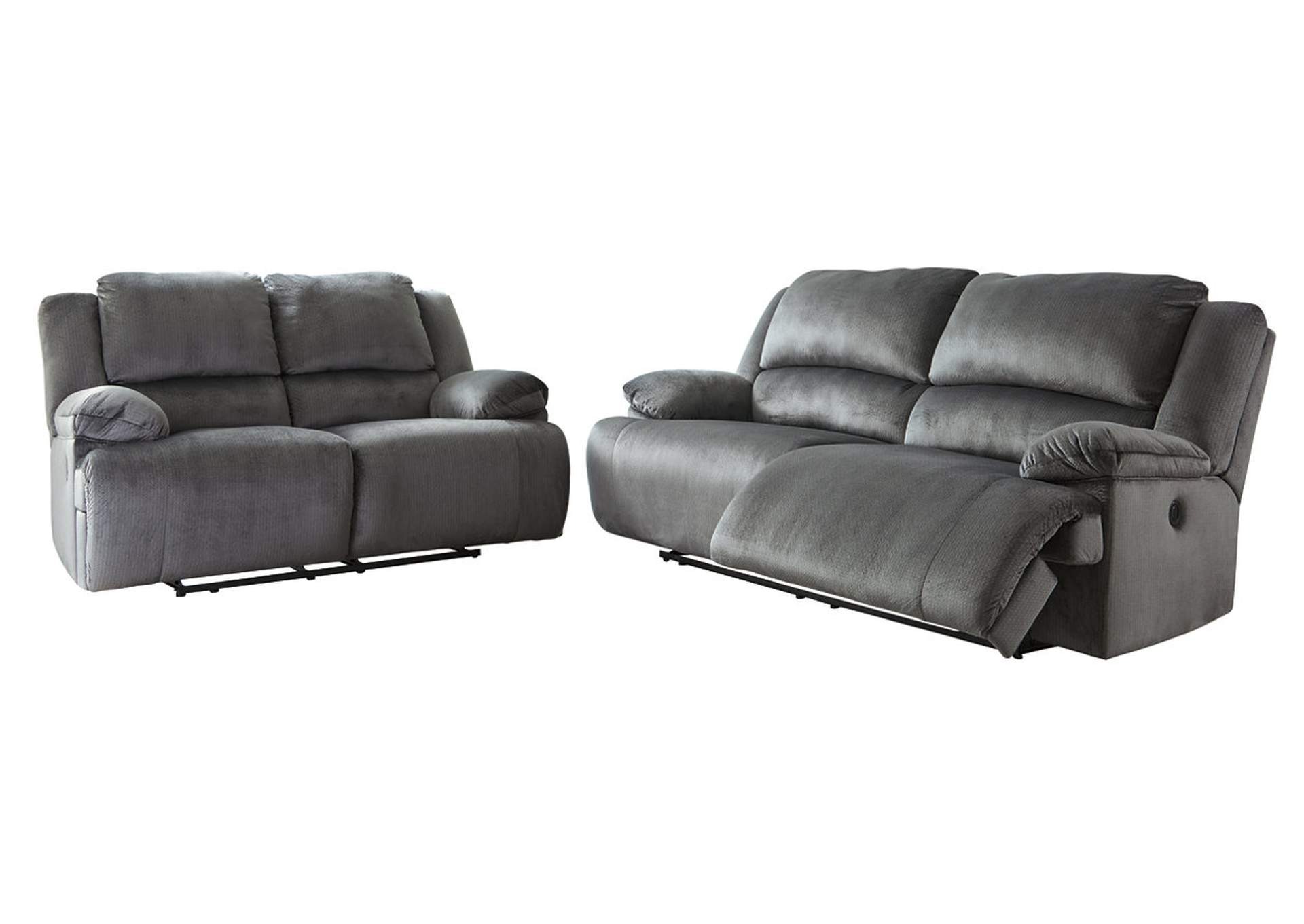 Clonmel Power Reclining Sofa and Loveseat,Signature Design By Ashley