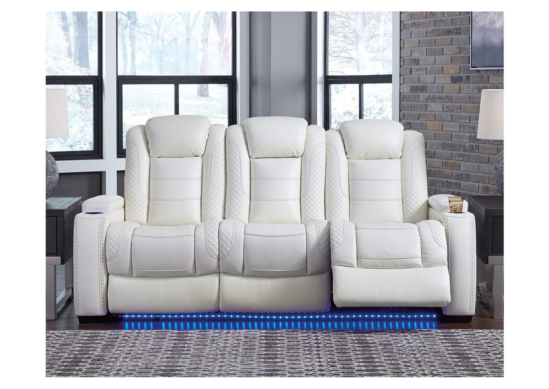 Party Time Power Reclining Sofa,Signature Design By Ashley