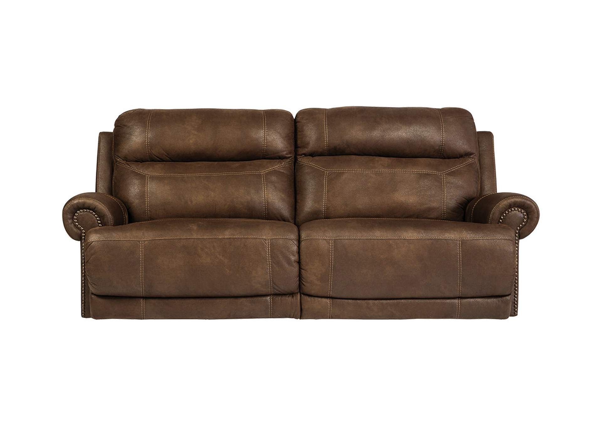Austere Brown 2 Seat Reclining Power Sofa,Signature Design By Ashley