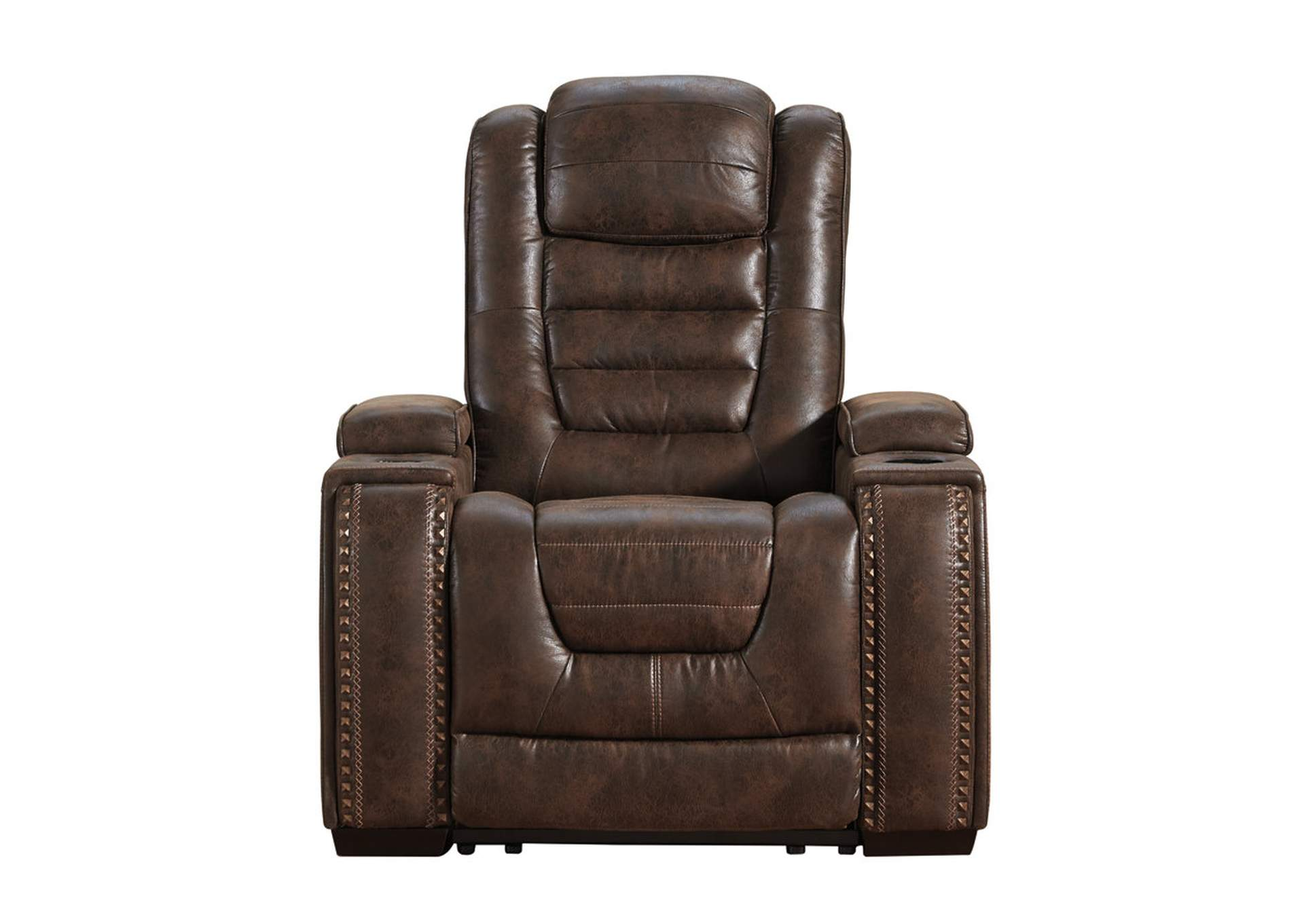 Game Zone Power Recliner w/Adjustable Headrest,Signature Design By Ashley