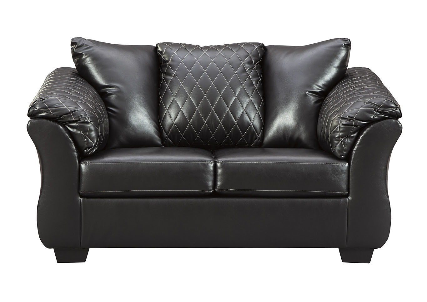 Bertrillo Black Loveseat,Signature Design By Ashley