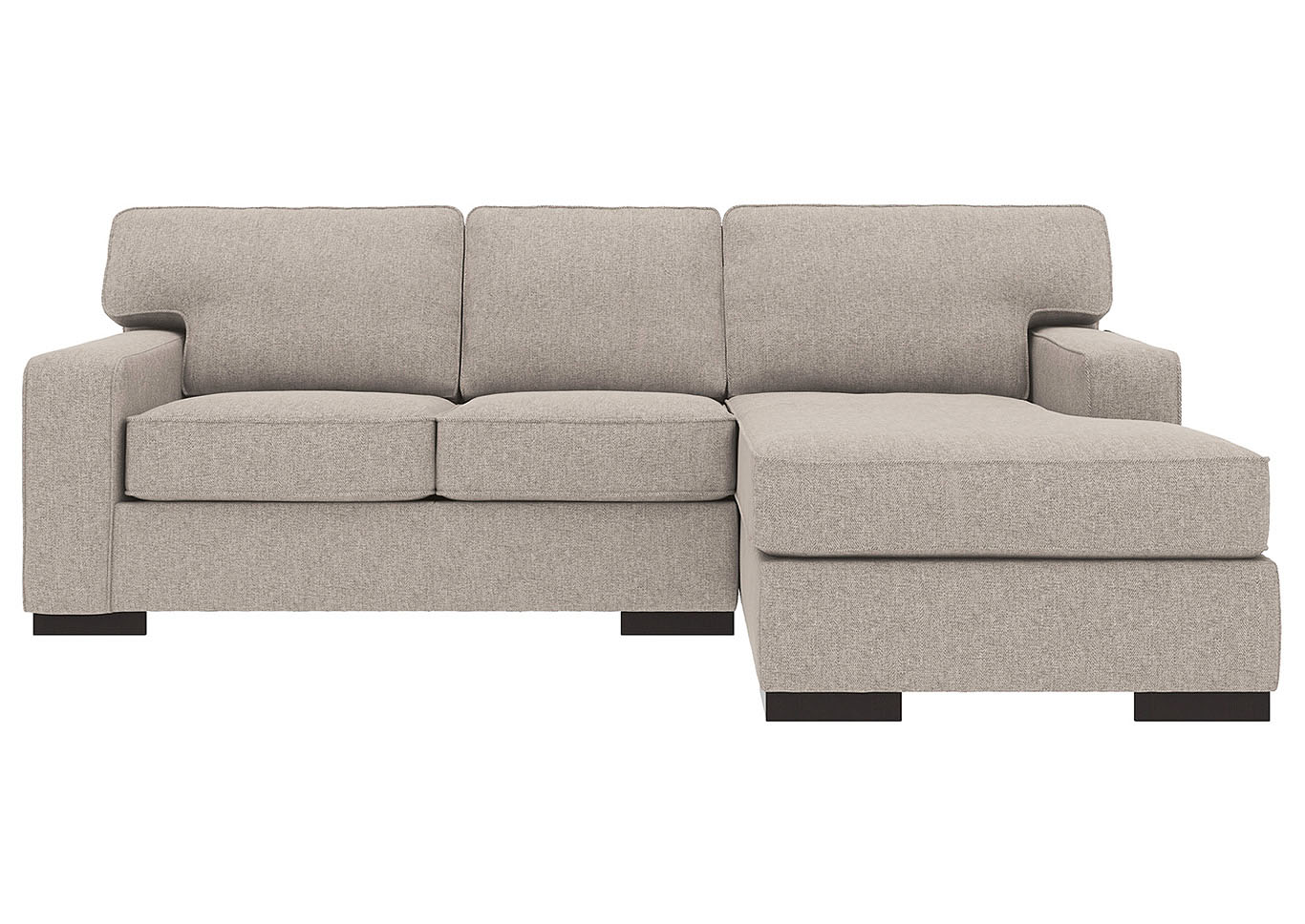 Ashlor Nuvella Slate RAF 2 Piece Chaise Sectional,Ashley