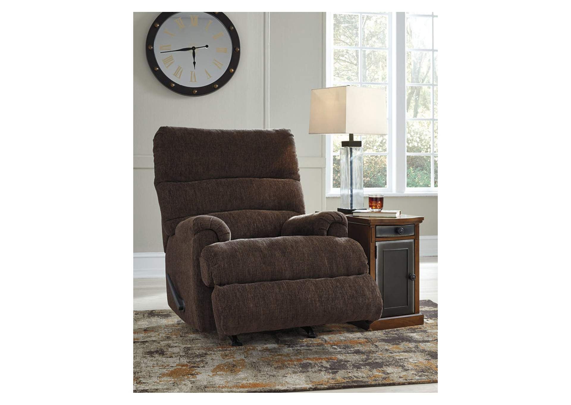 Man Fort Brown Recliner,Signature Design By Ashley