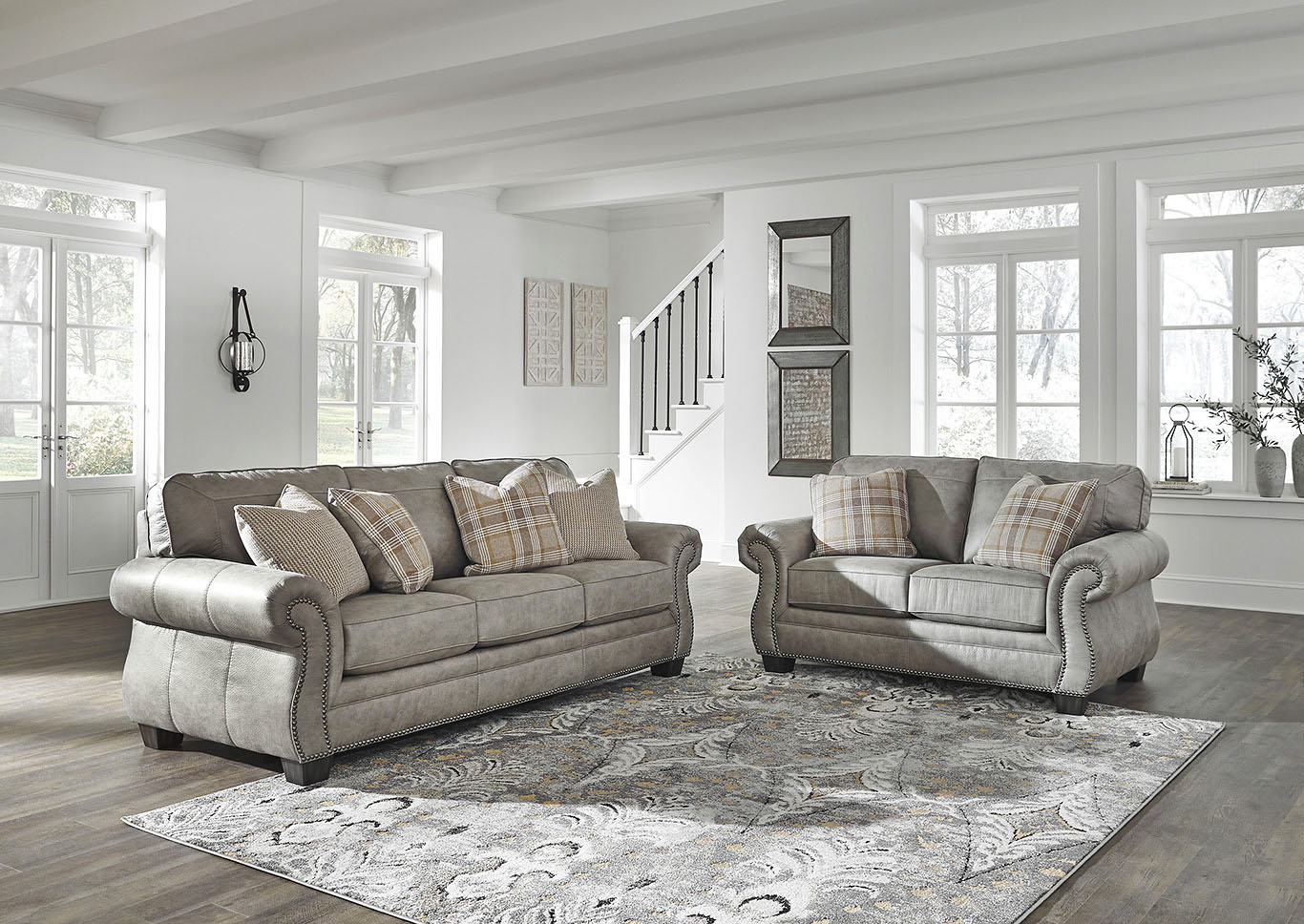 Olsberg Sofa and Loveseat,Signature Design By Ashley