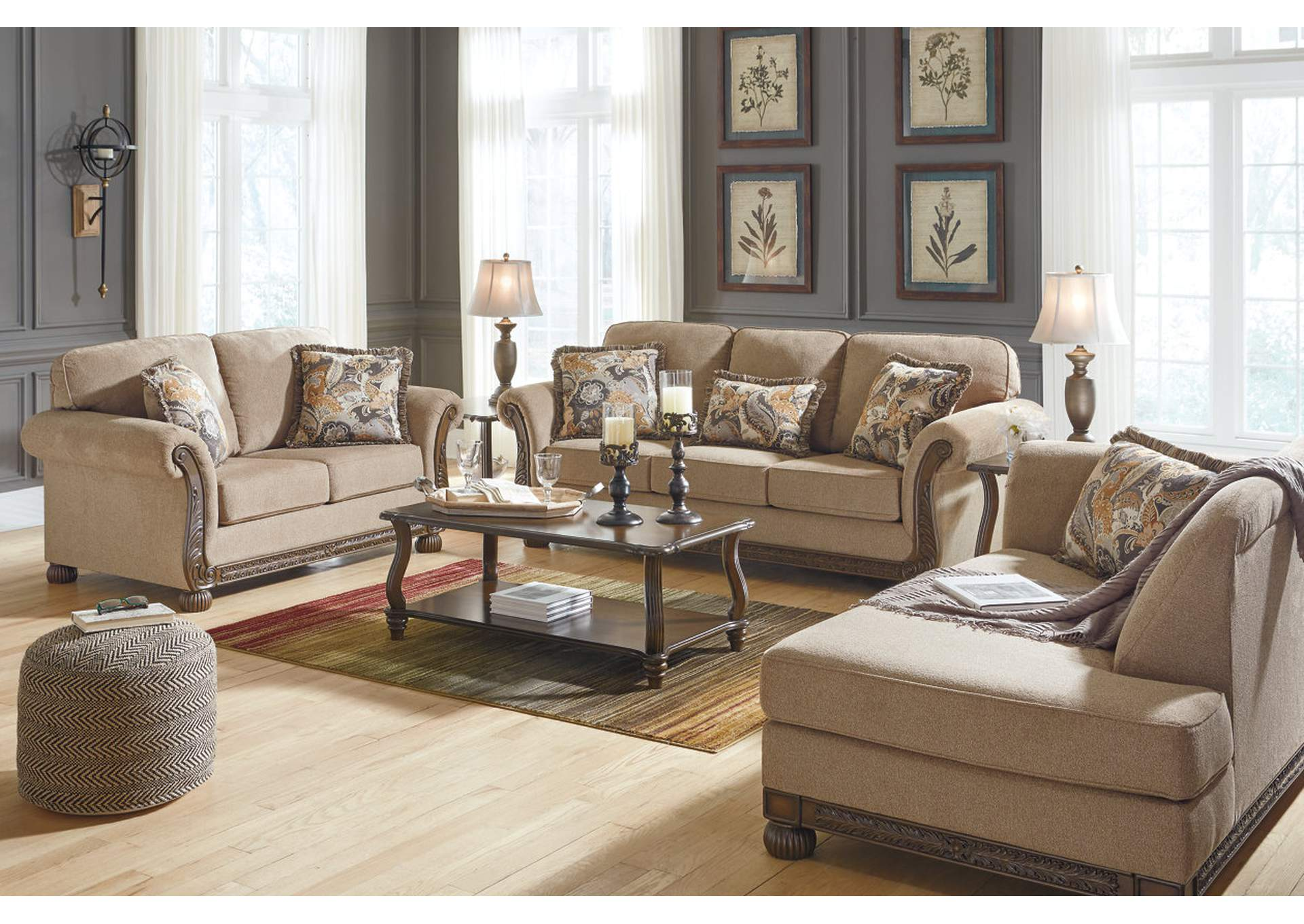 Westerwood Patina Sofa & Loveseat,Signature Design By Ashley