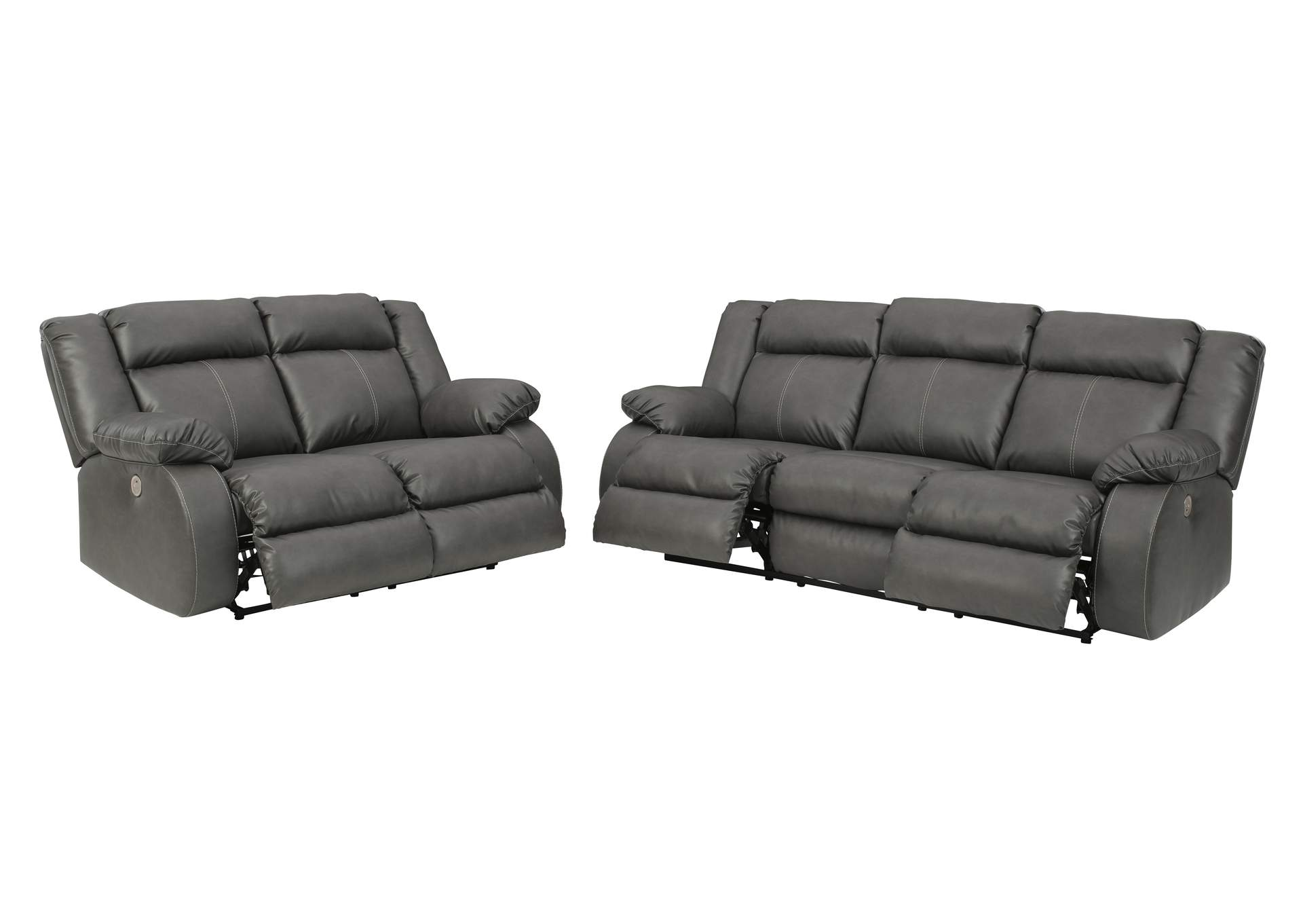 Denoron Power Reclining Sofa and Loveseat,Signature Design By Ashley