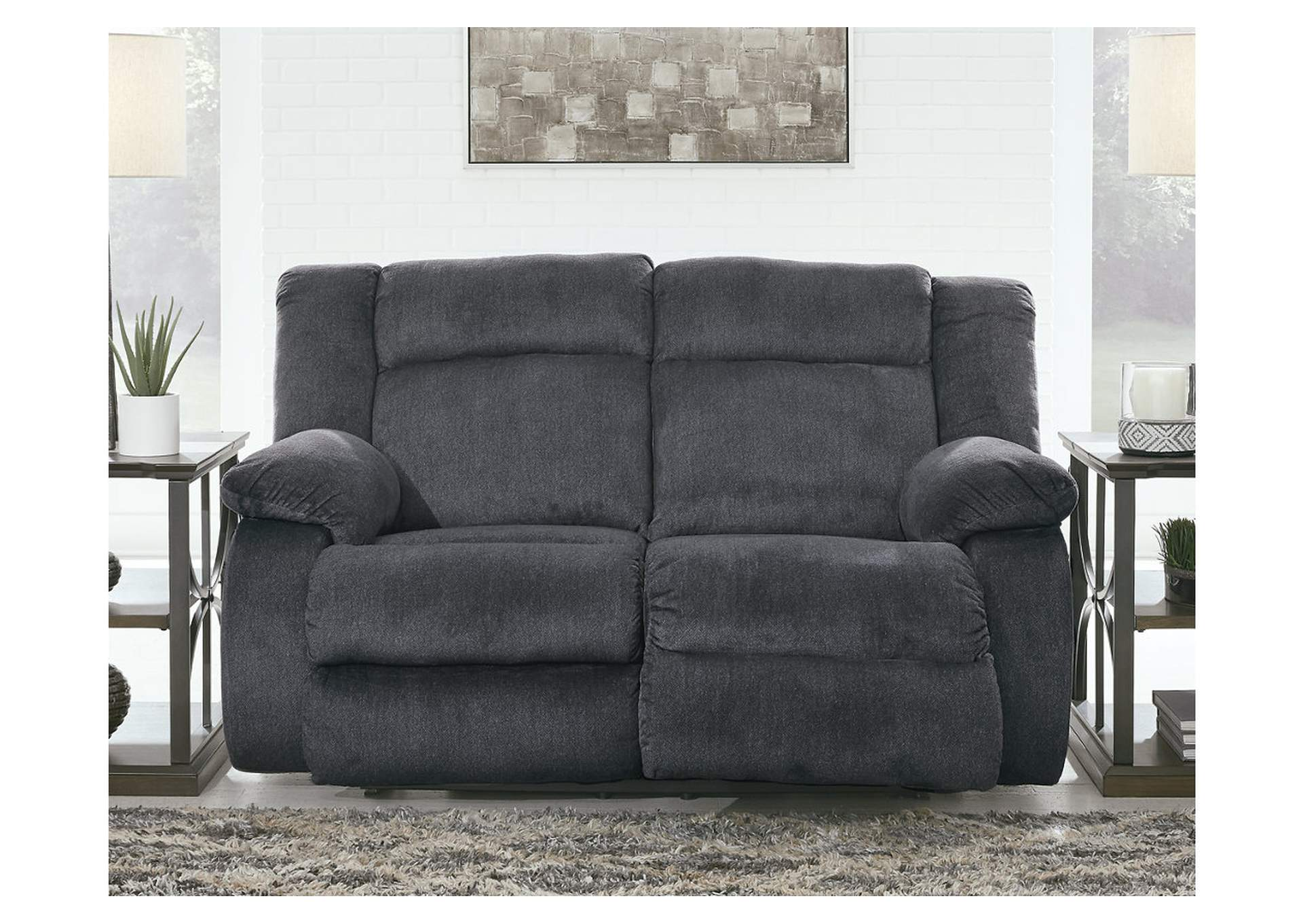 Burkner Power Reclining Loveseat,Signature Design By Ashley