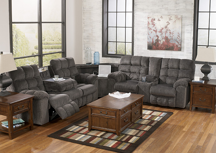 Acieona Slate Reclining Sectional,Signature Design By Ashley