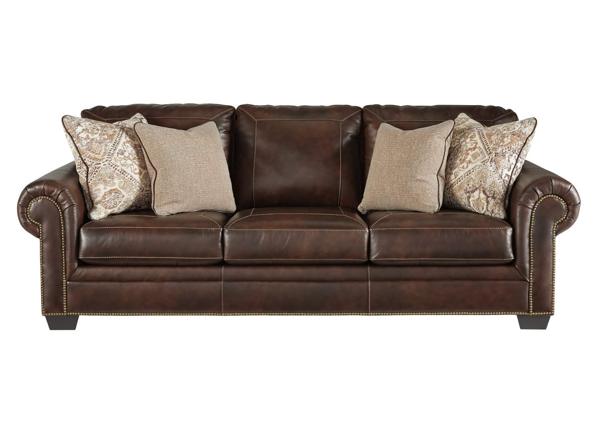 Roleson Walnut Sofa,Signature Design By Ashley