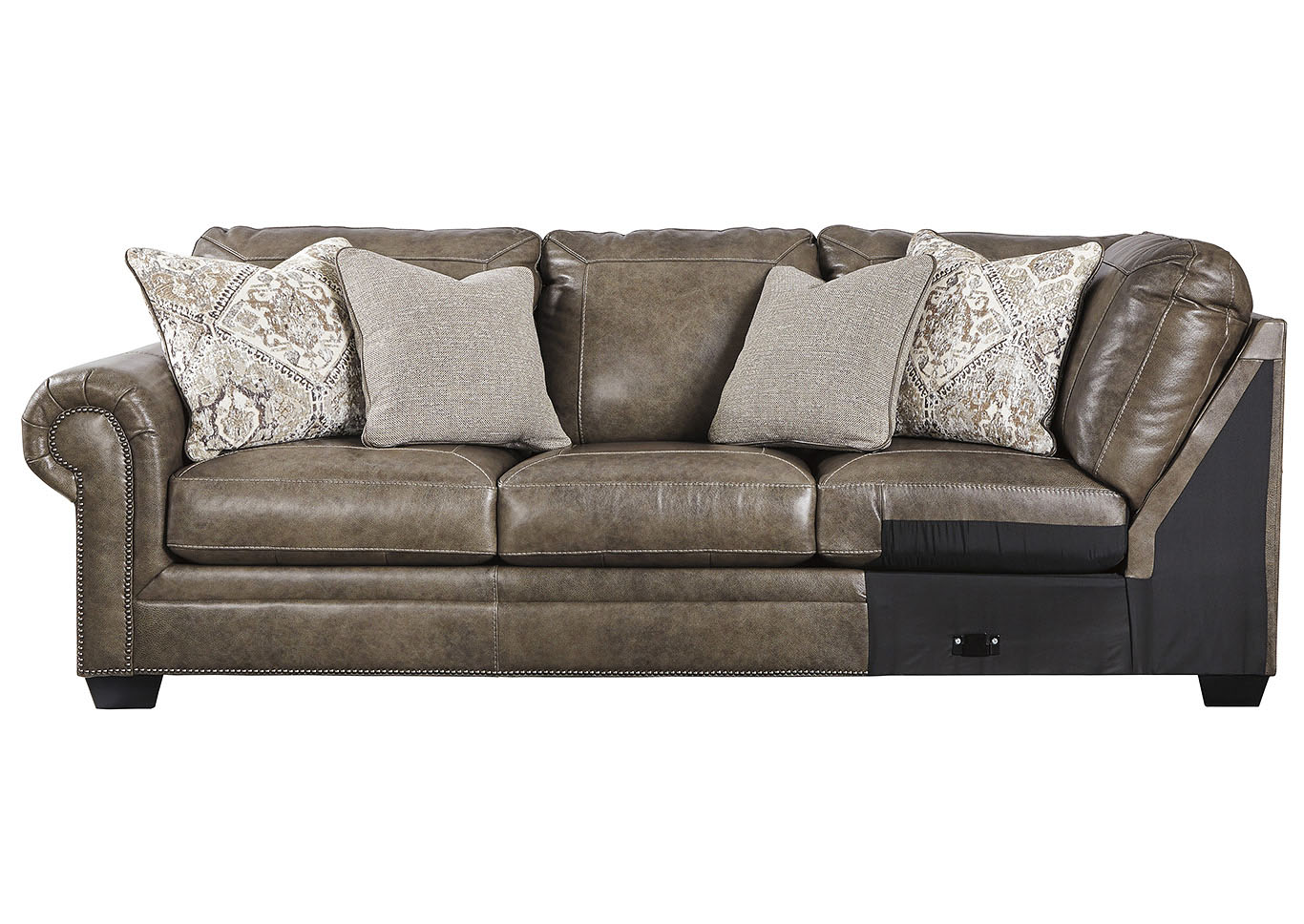 Roleson Quarry LAF Sofa w/Corner Wedge,Signature Design By Ashley