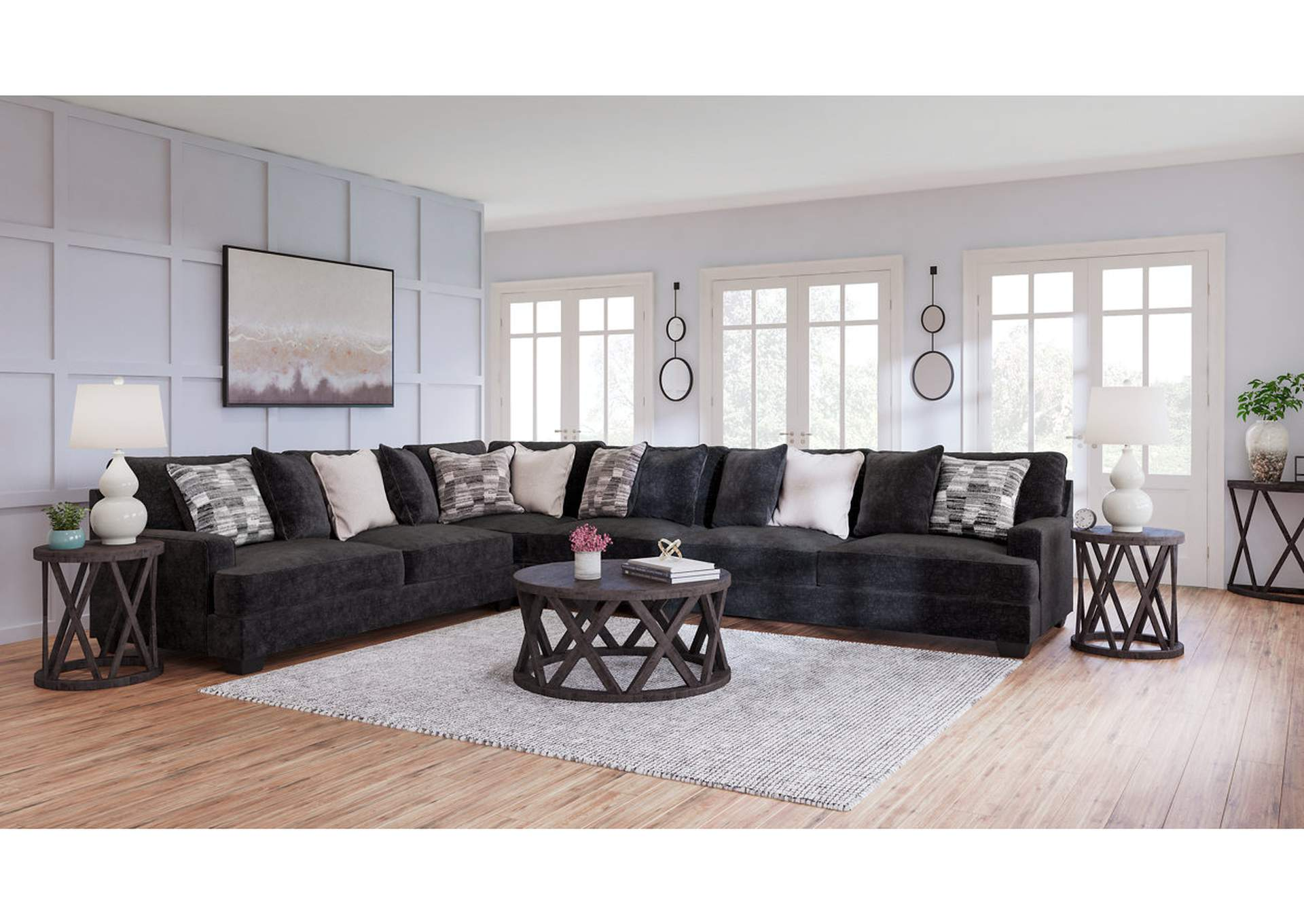 Lavernett 4-Piece Sectional,Signature Design By Ashley