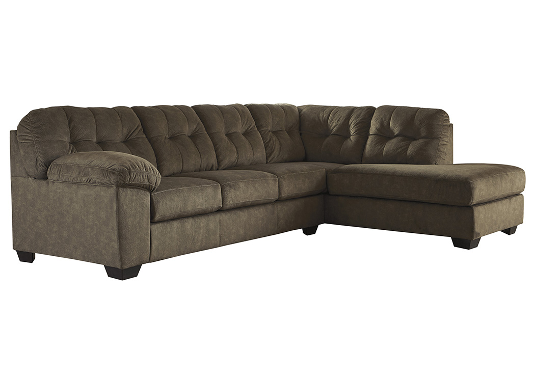 Accrington Earth RAF Chaise End Sectional,Signature Design By Ashley