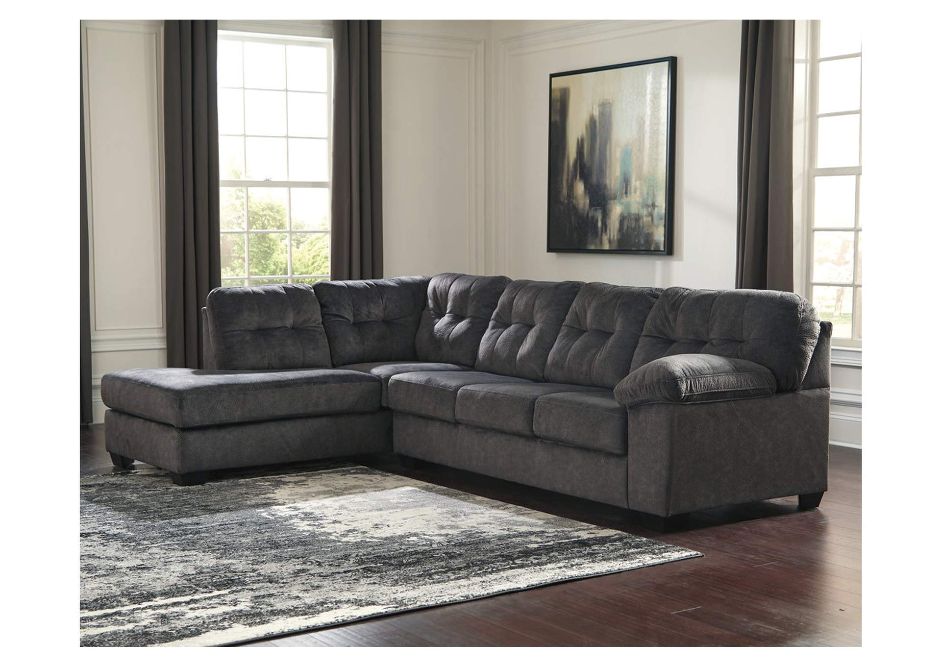 Accrington Granite LAF Chaise End Sectional,Signature Design By Ashley
